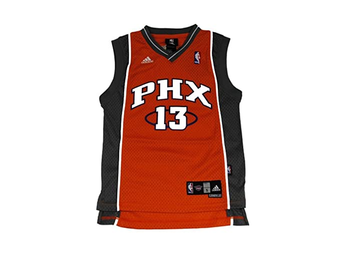 Amazon.com   Adidas Phoenix Suns Steve Nash Swingman 2Nd Road Jersey ... 4b42cfda0