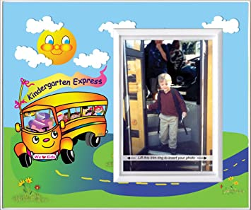 Amazoncom Kindergarten Express Back To School Picture Frame