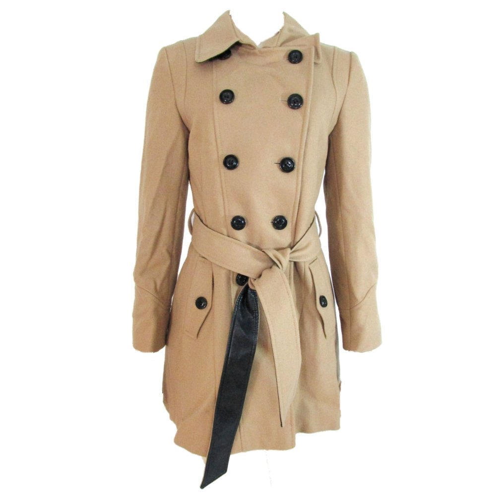 classic chic exquisite craftsmanship fine quality Amazon.com: DKNY Women's Double Breasted Military Trench ...