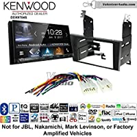 Volunteer Audio Kenwood DDX9704S Double Din Radio Install Kit with Apple Carplay Android Auto Fits 1998-2005 Lexus GS Series