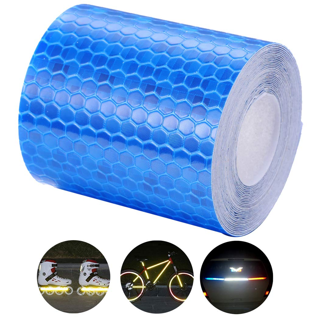 Fluorescence Yellow Pinzhi/®3m Night Reflective Safety Warning Conspicuity Tape Sticker