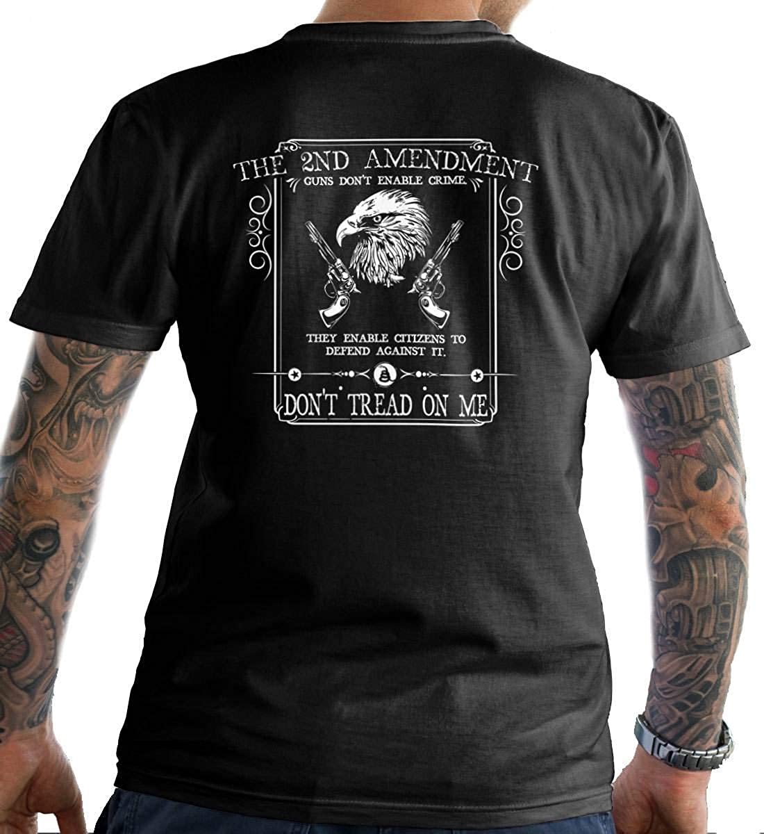 Sons Of Liberty The 2nd Amendment: Guns Don't Enable Crime  T-Shirt  Made  in