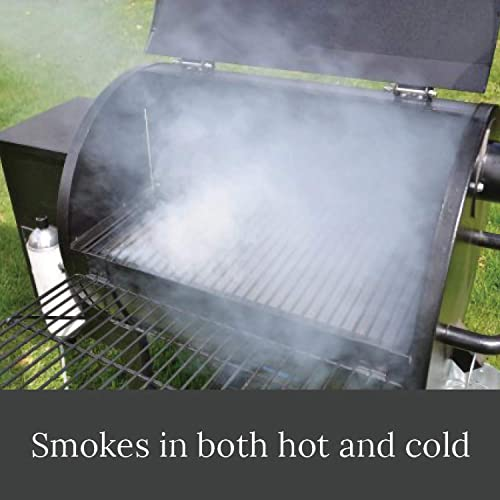 Smoke Daddy 8 Inch Cold Smoke Generator Uses Your Choice of Fuels for Gas Charcoal Electric Pellet Grills