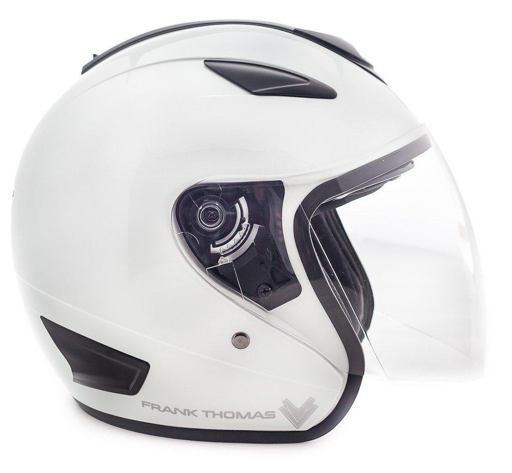 EXTRA SMALL XS 54 CMS, PINK BUTTERFLY FRANK THOMAS DV28 OPEN-FACE MOTORCYCLE HELMET DV-28 MOTORBIKE J/&S