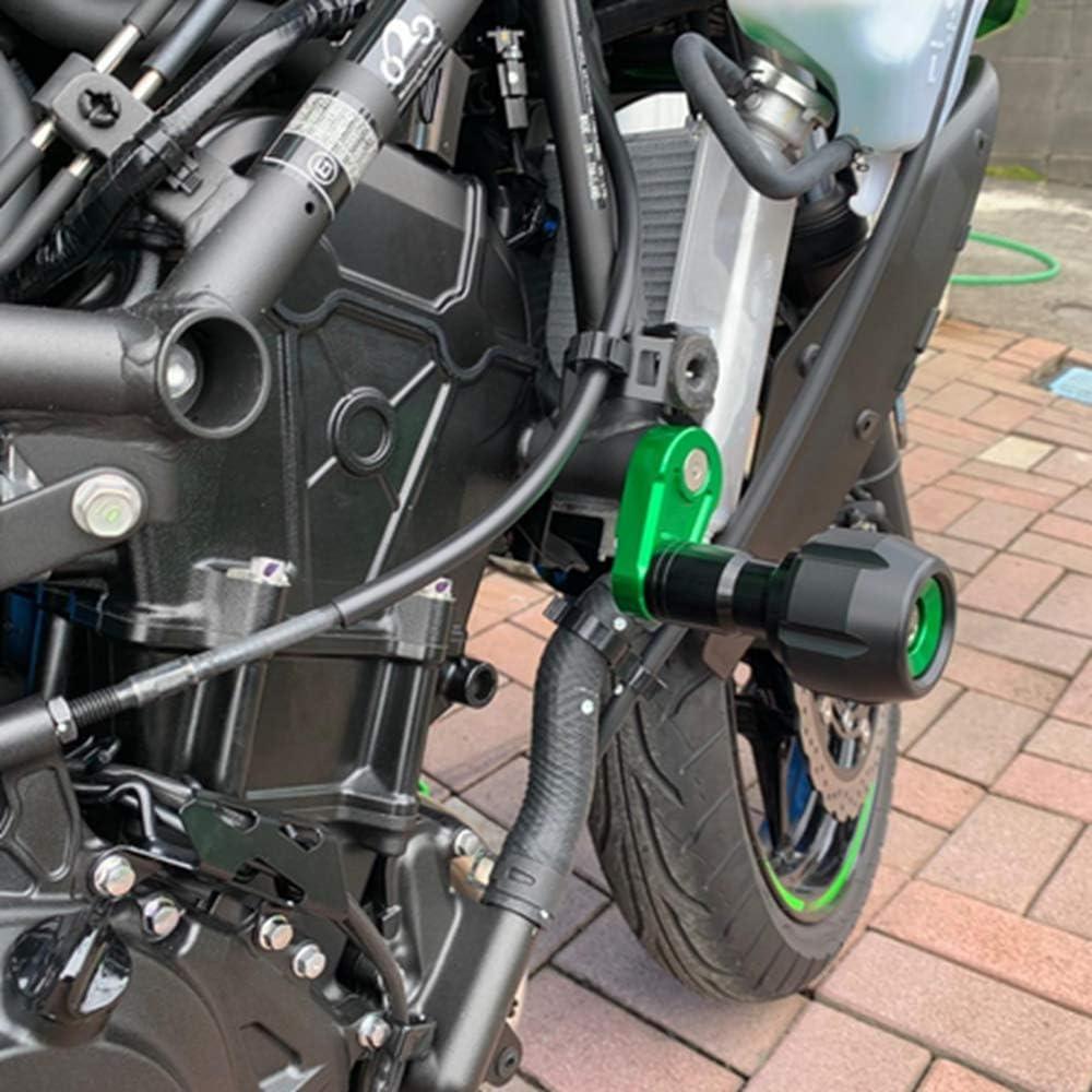 Elec-bro Ninja400 2018 2019 2020 Frame Sliders Guard Crash Protector CNC Aluminum 6061 and POM Green