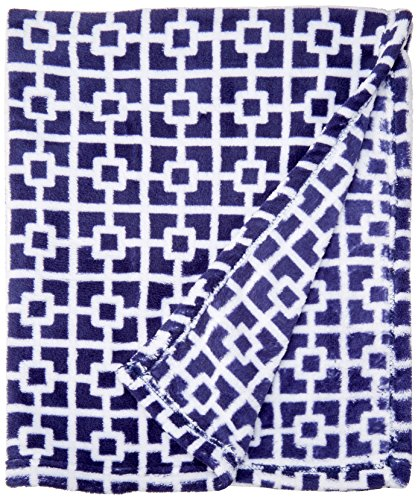Luvable Friends Fleece Blanket Trellis