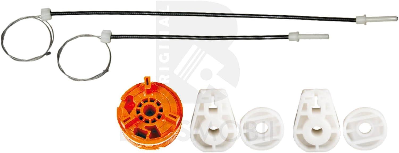 Bossmobil MEGANE II 2 Coupé-Cabriolet (EM0/1_), Trasero derecho, kit de reparación de elevalunas eléctricos