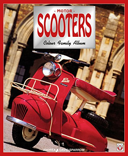 Used, Motor Scooters: Colour Family Album for sale  Delivered anywhere in USA