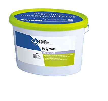 Sigma Poly Mate pared color color interior Clase 1 blanco mate 1 L