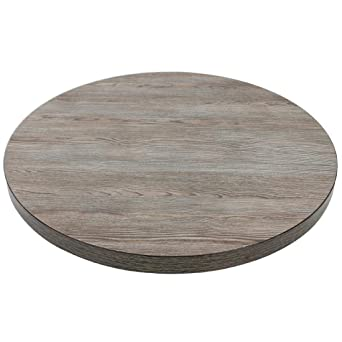 Chiner Antique Natural Tablero de Mesa Redondo 60 cm.