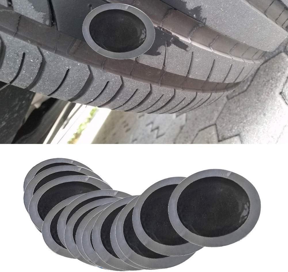Qii lu 10 St/ücke 115mm Reifen patches Auto Naturkautschuk Reifen Reifenpanne Reparatur Kalten Patch Tubeless Patches YB-04