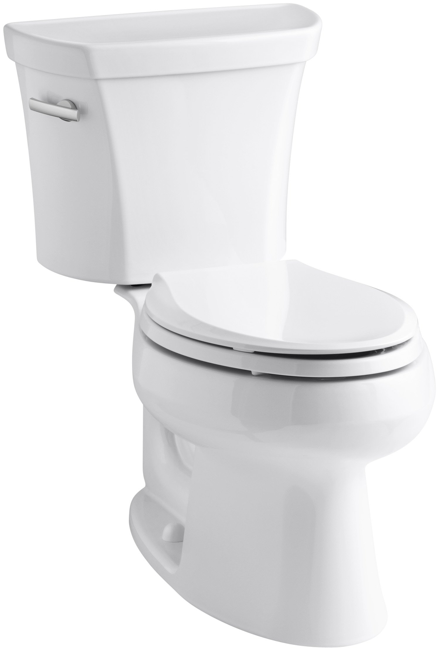 Kohler K-3998-0 Wellworth Elongated 1.28 gpf Toilet, White by Kohler