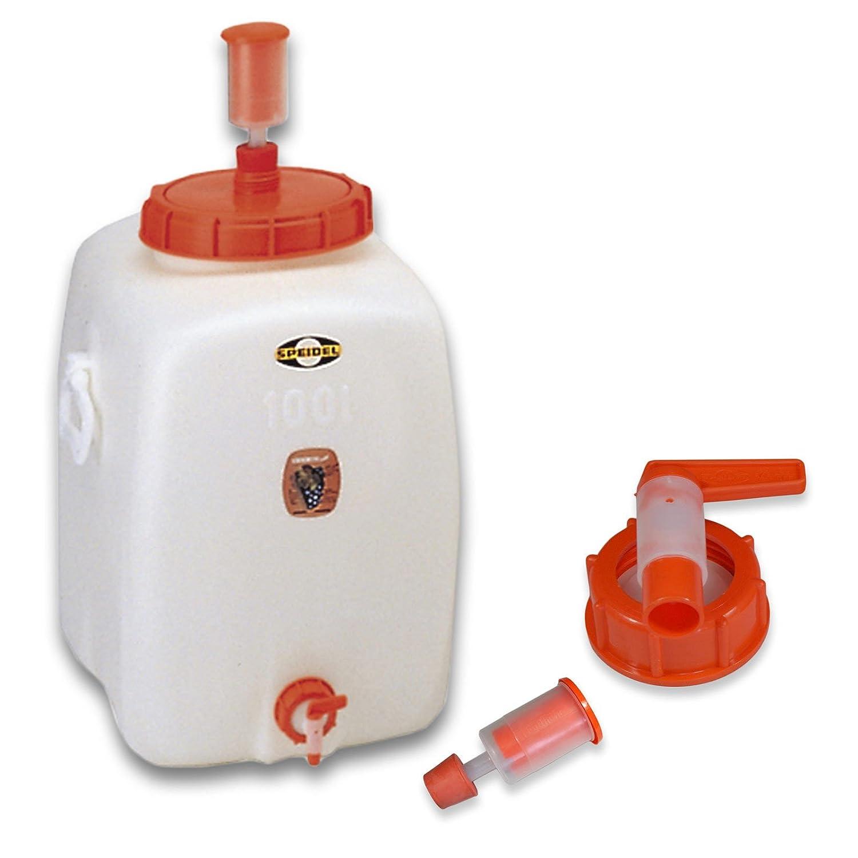 Barrel for fermentation SPEIDEL - Keg, Fermenter 100 L oval + 1airlock + 1 tap + 1 cap (22151+137+138+140) Wilai GmbH 90067