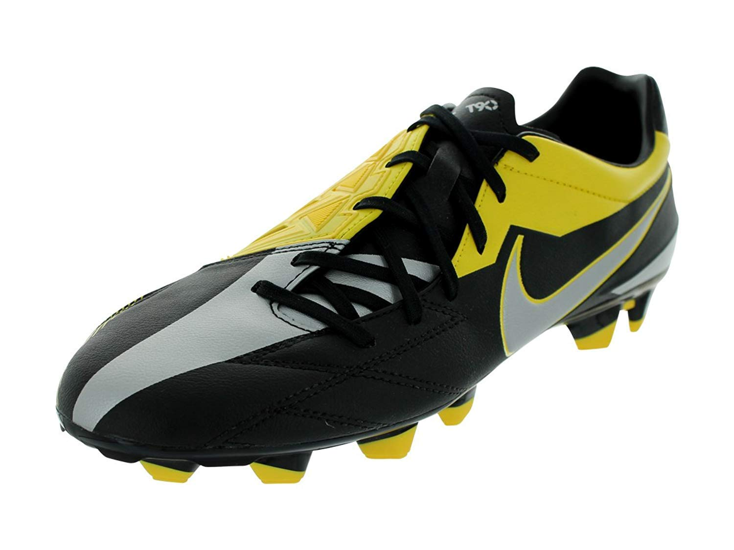 Nike JR T90 Shoot IV FG (2) Yellow, Black
