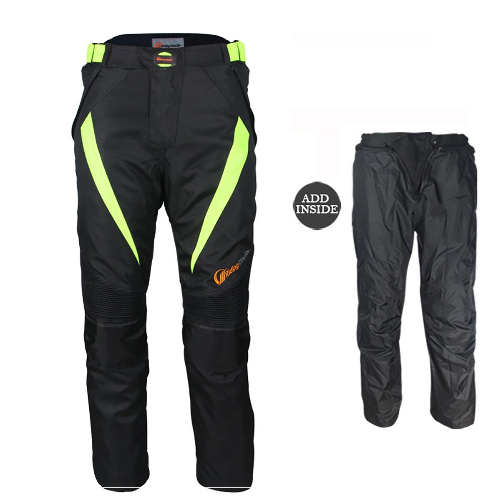LKN, pantaloni di protezione in tessuto Armour, unisex, peri primavera ed estate, fodera impermeabile estraibile A020043-07
