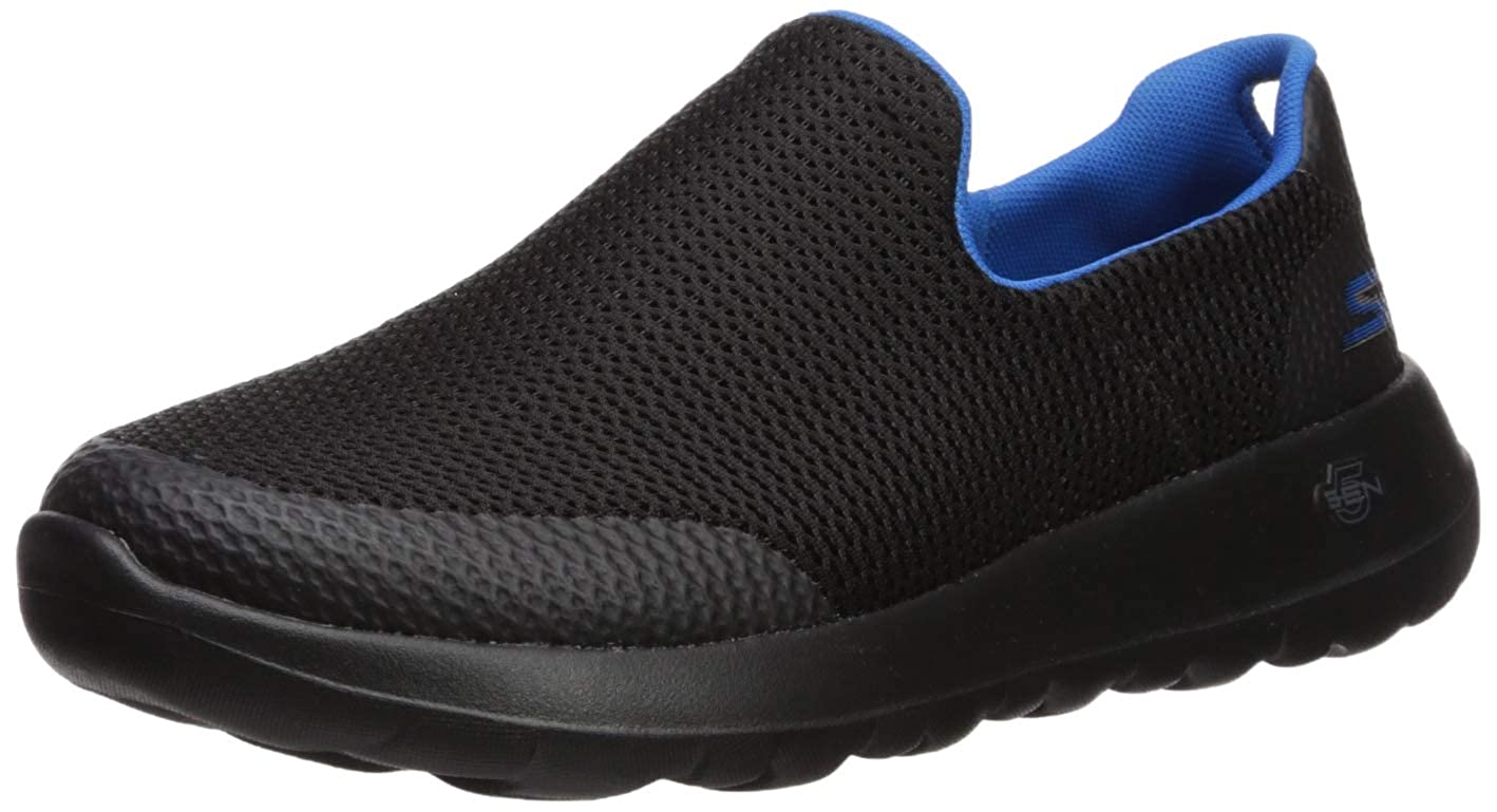 Black bluee Skechers Men's Go Walk Max Slip On Trainers