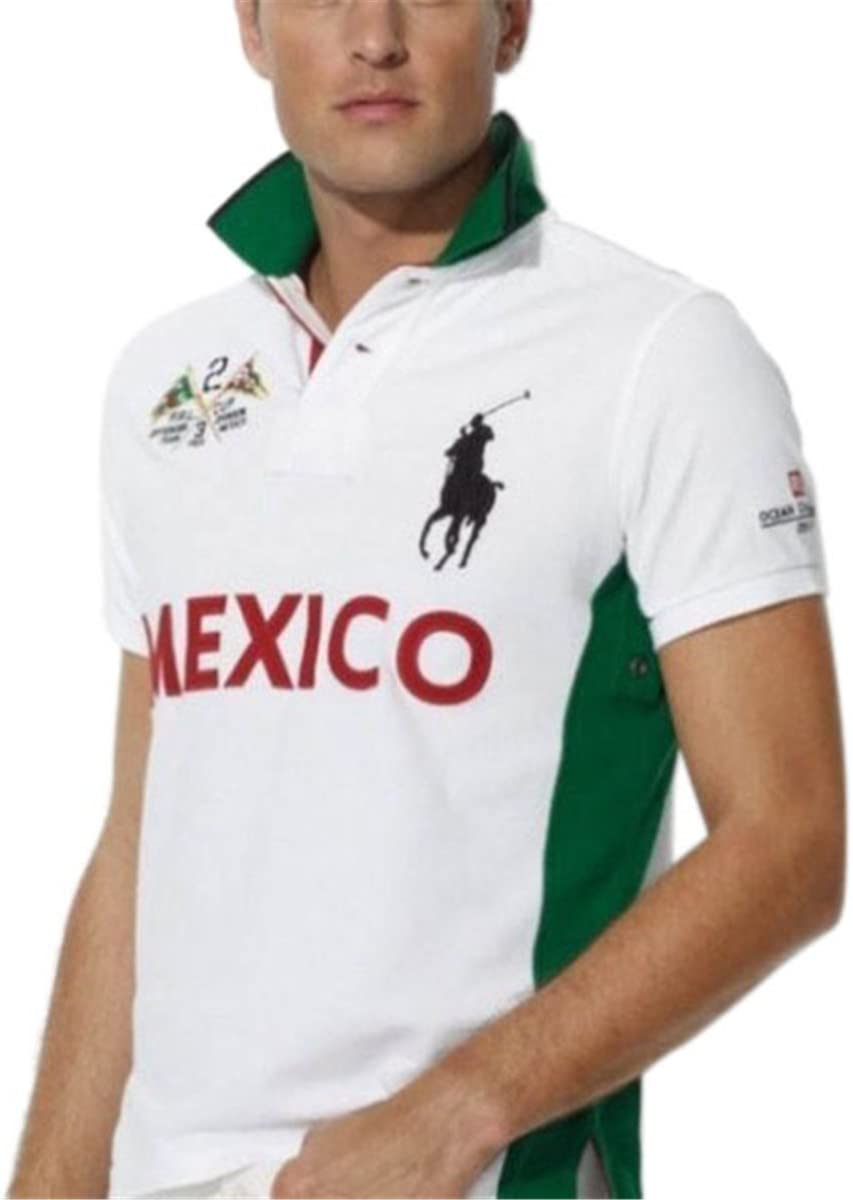 Ralph Lauren – Big Pony – Bandera de México Blanco Ocio Deportivo ...