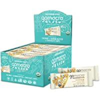 GoMacro MacroBar Mini Organic Vegan Snack Bars - Coconut + Almond Butter + Chocolate Chips (0.90 Ounce Bars, 24 Count)
