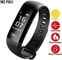 Pulseira M2 PRO smartband Fitness Monitor Frequência Cardíaca Pressão Sanguínea IP67