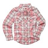 Levi's girls Western Button Up Shirt. Candy Pink 4T