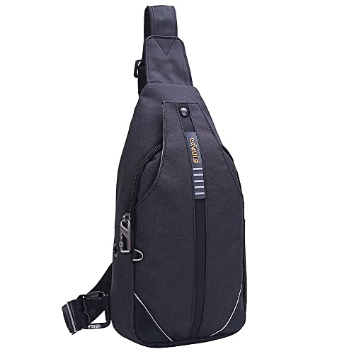 86ef3a73ec8b EGOGO Men s Anti-Theft Sling Bag Chest Shoulder Backpack Cross Body Pack  Bags for Hiking