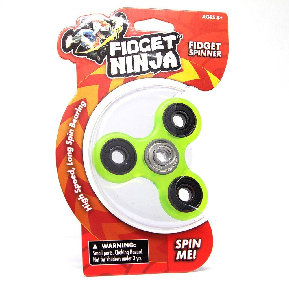 Yoyofactory Fidget Ninja Spinner - Giallo
