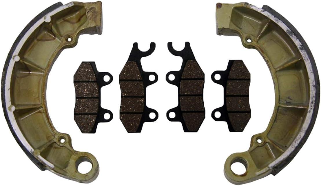 Race Driven Rear Brake Shoe for Kawasaki Prairie KVF300 KVF400 KVF 300 400 Bayou KLF300 KLF400 KLF 2X4 4X4
