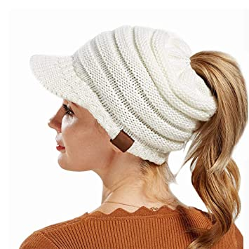 7c01337f566 KOBWA Brim Beanie Hat