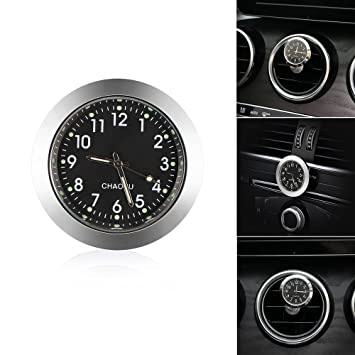 Discoball Car Dashboard Clock Waterproof Quartz Clock with Night Display