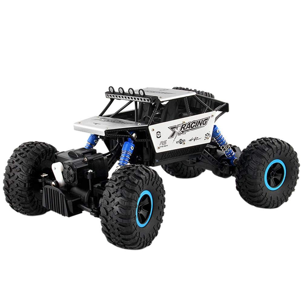 Amazingdeal Fun Early Education Toy 2.4GHz 1:18 RC Car 5-Wheel Climbing Car Off-Road Vehicle Stunt Racing Car Creative Education Toy