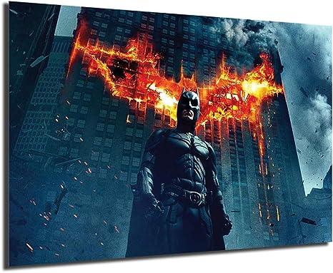Justice League Movie The Batman Art Canvas Poster 8x12 20x30 inch