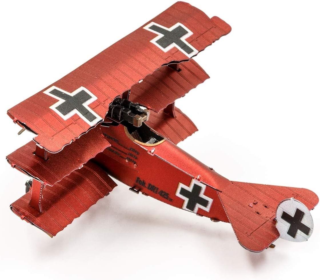 P-51D Mustang Sweet Arlene P-40 Warhawk Metal Earth Fascinations 3D Metal Model Kits Set of 4 I Triplane Fokker Dr U-2 Dragon Lady
