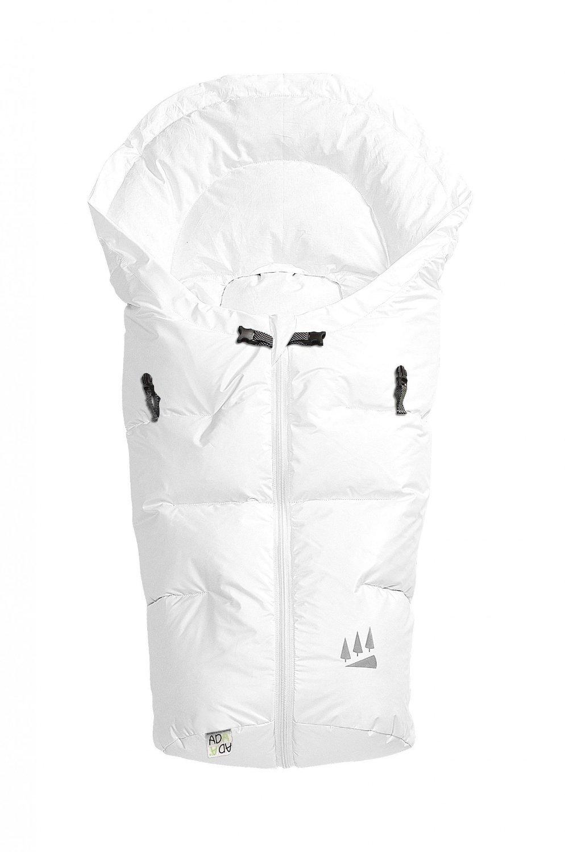 Odenwälder 11344-100 Fußsäckchen Dauni weiß Modell 2014/15 Odenwälder