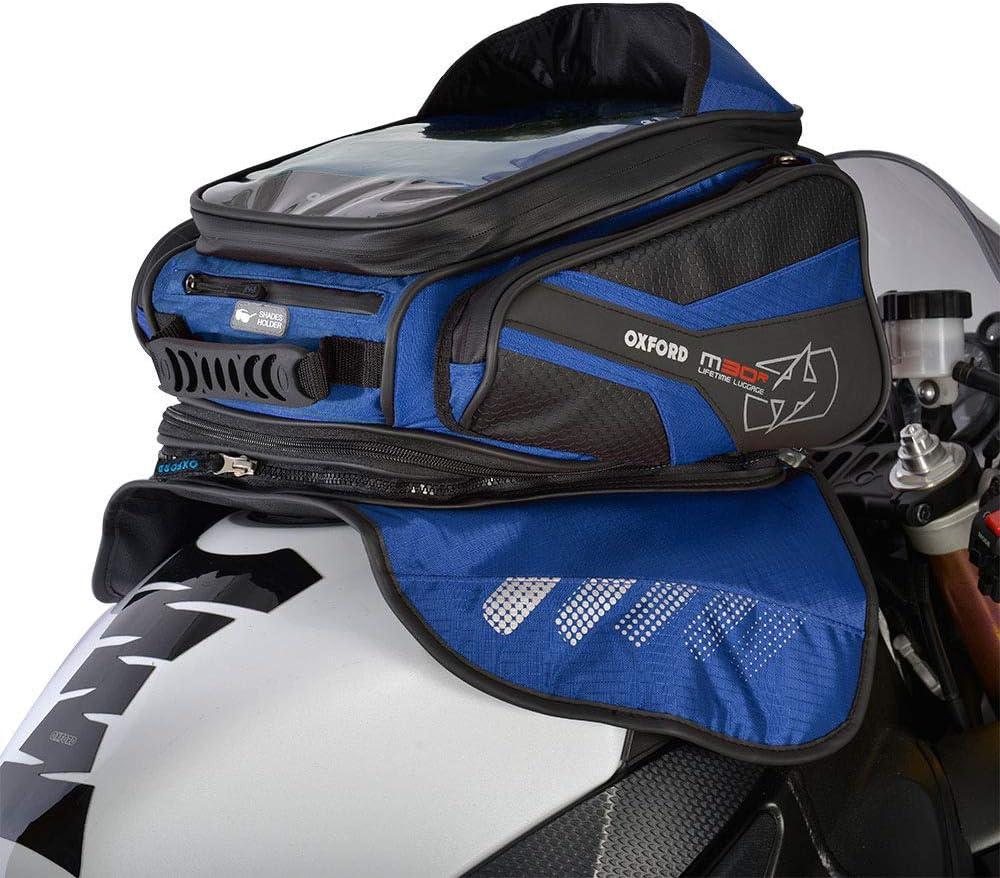 M30R Magnetic Mount Motorcycle Oxford OL247 Blue 30 L Tank Bag