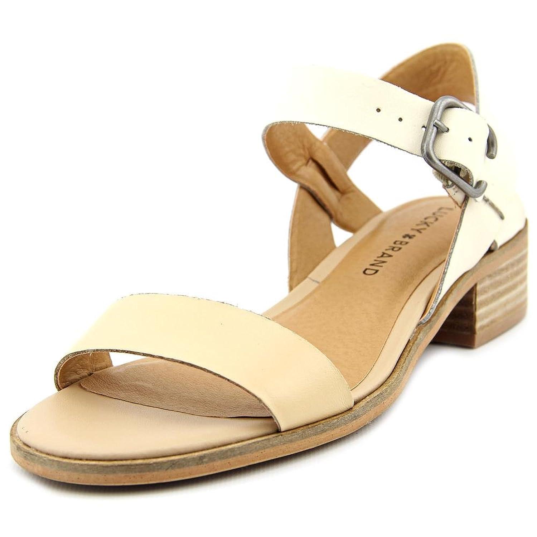Women's sandals that hide bunions - Lucky Brand Toni Women Open Toe Leather Tan Slingback Sandal