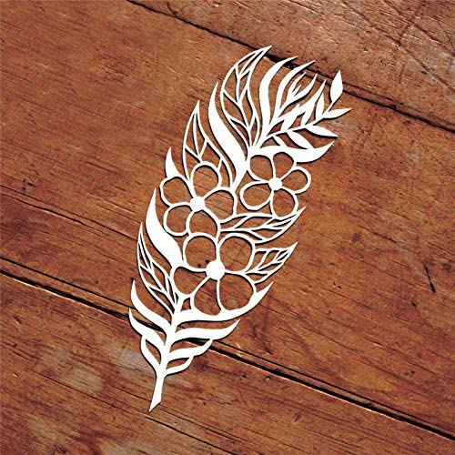Metal Feather Deer Cutting Dies Stencils DIY Scrapbooking Album Paper Card Craft