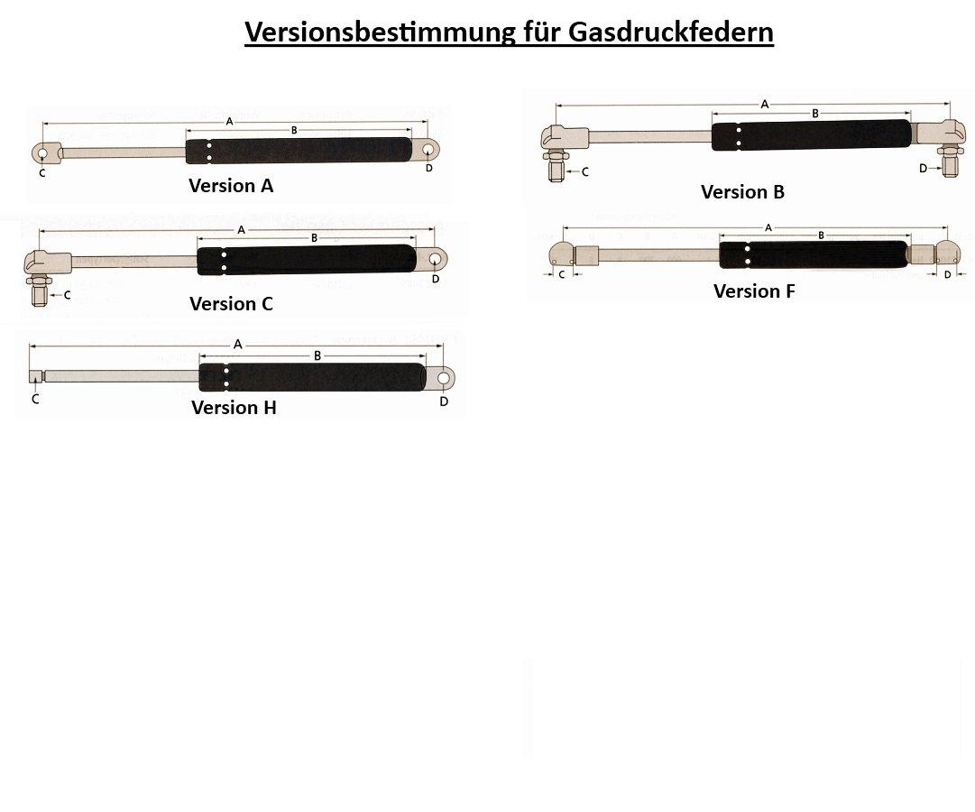 neu 309 308 Gasdruckdämpfer für Tür Fendt Farmer 307