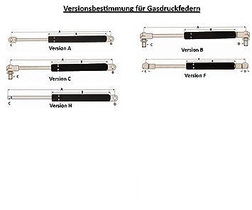 neu // Gasdämpfer Gasdruckdämpfer Gasfeder für FENDT II