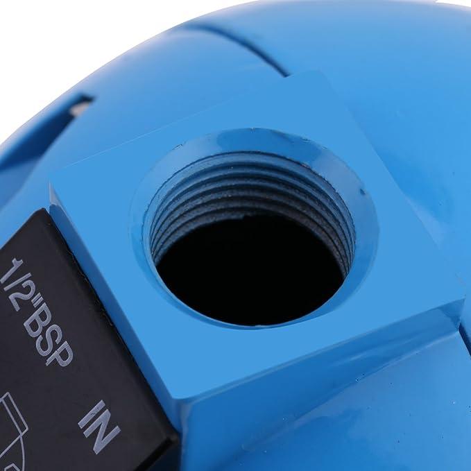Xinrub HAD20B - Válvula de desagüe de flotador redondo mecánico de condensación automática 1/2BSP 400L/H 20 bar: Amazon.es: Hogar