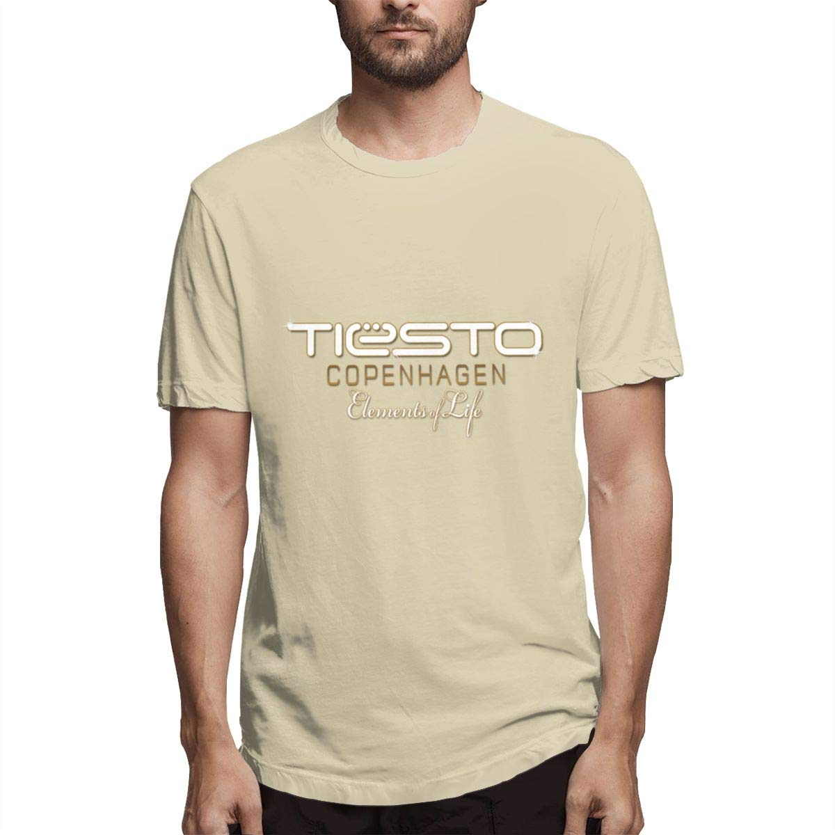 Seuriamin Tiesto Mens Humor Walk Short Sleeve T-Shirt
