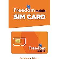 Freedom Mobile Prepaid SIM Card (GSM)
