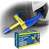 Goodyear 022762 Heavy Duty Car Wheel Clamp-Van/Caravan 2 Keys-Unbreakable Security