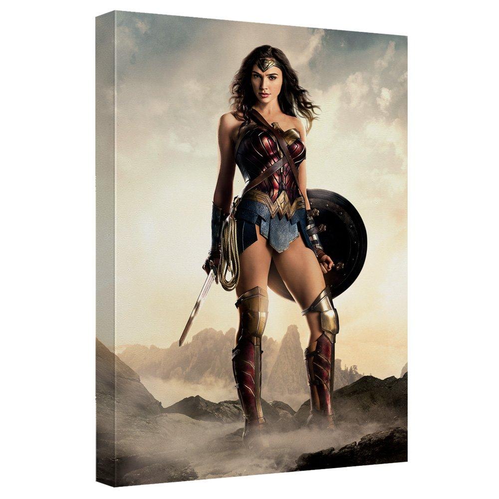 Wonder Woman – Justice Leagueムービー – STRETCHED CANVAS FRAMED artwrap 16x20 Inches TR-JLM154-ADV2-16x20 B076N4V1H3 16x20 Inches 16x20 Inches