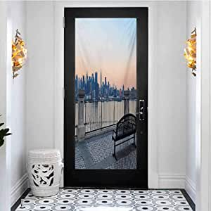 3D Door Decals Vinyl Removable Stickers DIY Home Decor ...