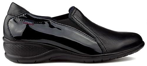 Mocasines CALLAGHAN Ave Charol W Negro: Amazon.es: Zapatos y complementos