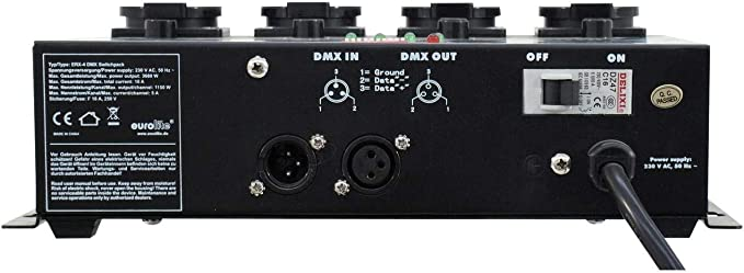 Eurolite 70064210 Erx-4 Dmx - Regulador de intensidad: Amazon.es ...