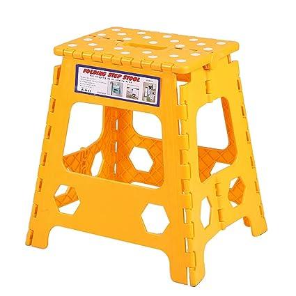 Surprising Amazon Com Jzmai Stool Multi Purpose Handy Foldable Folding Machost Co Dining Chair Design Ideas Machostcouk