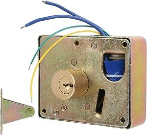 Home Security Device Intelligent Lock, Electronic Door Lock Drawer Lock, Durable Rightward Unlo Smart Security for Anti-Theft Cabinet School Locker