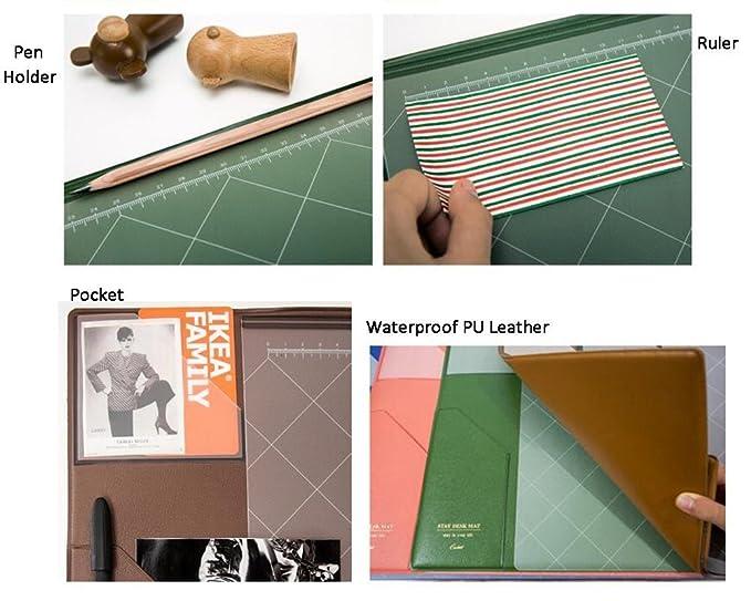 Alfombra de ratón impermeable alfombra de ratón escritorio ...