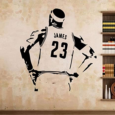 Estrella de baloncesto Lakers LeBron James LBJ Etiqueta de la ...